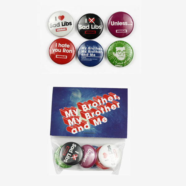 MBMBaM Button Set 01