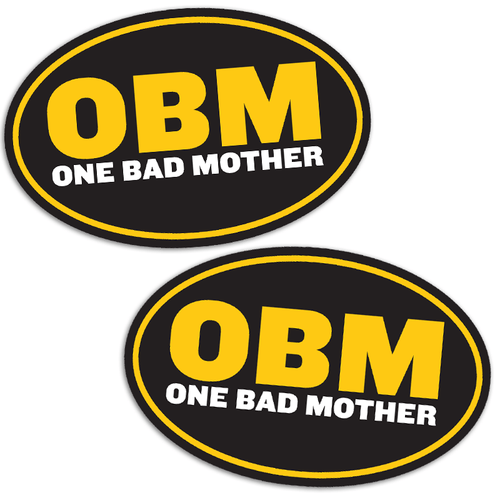 One Bad Mother Magnet Two-Pack