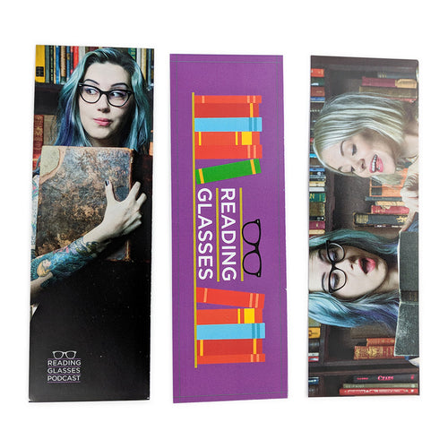 Reading Glasses Bookmark Set
