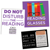 Reading Glasses Sticker Pack