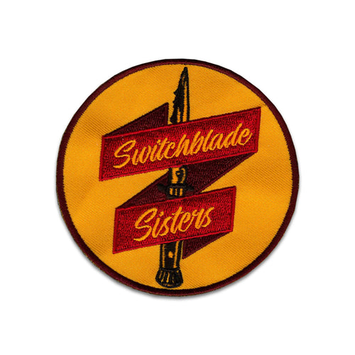Switchblade Sisters Logo Patch