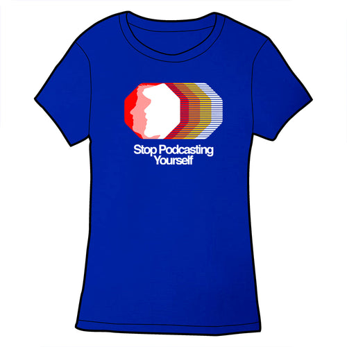 Stop Podcasting Yourself Logo Shirt PRE-ORDER