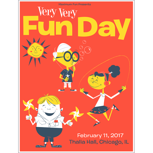 Very Very Fun Day Poster