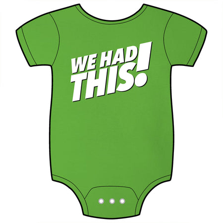 One Bad Mother Great Job Baby Onesie