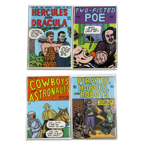 Comics Covers Magnets Set