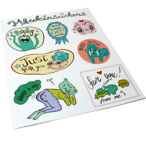 MeekinStickers Sticker Sheet!