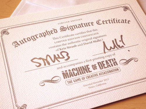 MOD Game Signature Certificate