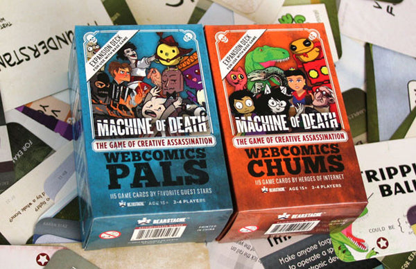 Machine of Death Game Expansions