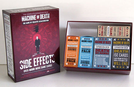 Machine of Death Game Accessories