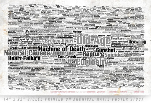 Machine of Death 2 Commemorative Poster
