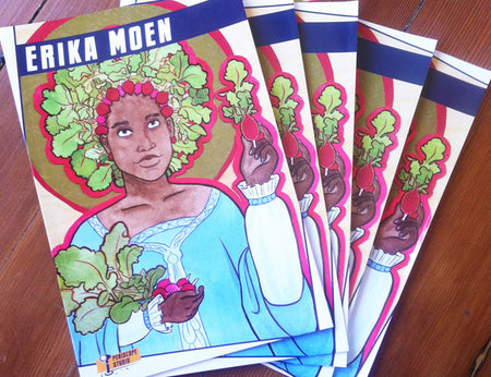 Erika Moen Sticker 4-Pack Set 01