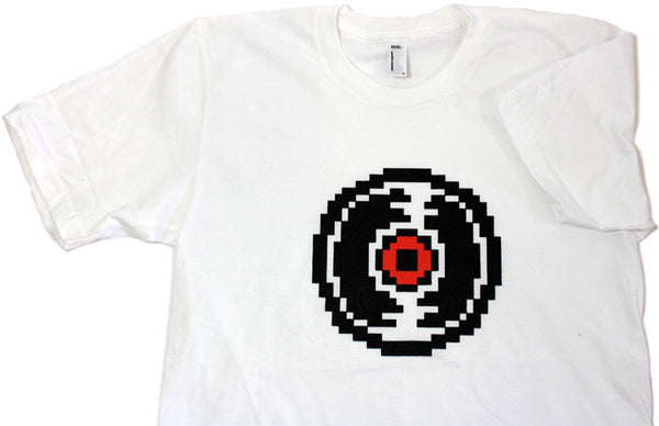 Record Shirt (White) *LAST CHANCE*