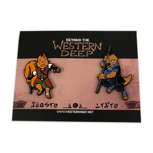 Beyond the Western Deep: Quin and Dak Pin Set