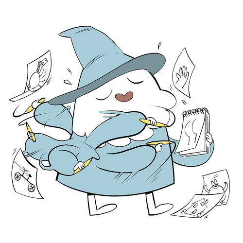Wizard-A-Day Prints