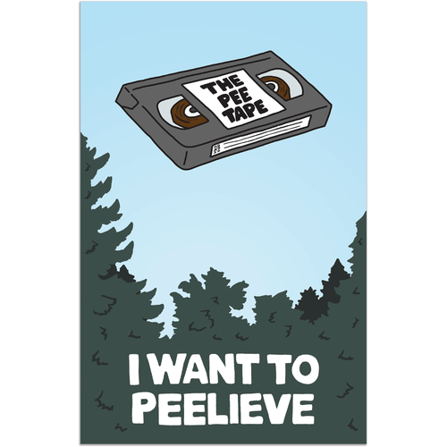 I Want to Peelieve Art Print