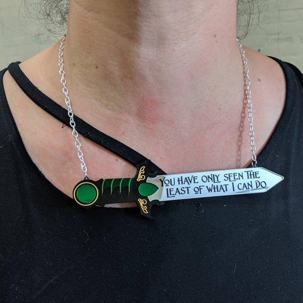 You Have Only Seen the Least of What I Can Do Necklace