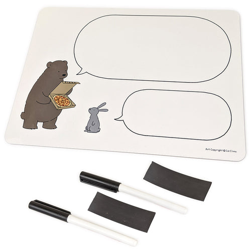 Bear & Rabbit Whiteboard