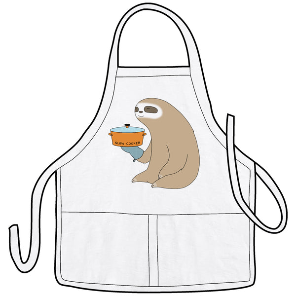 Slow Cooker Sloth Apron