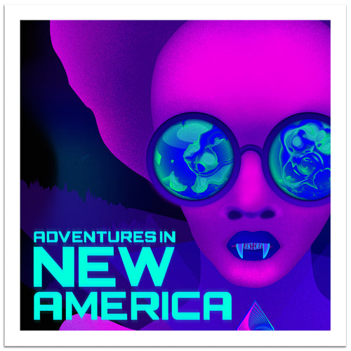 Adventures in New America Logo Print