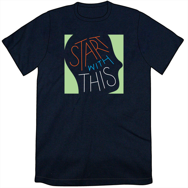 Start With This Logo Shirt - Navy