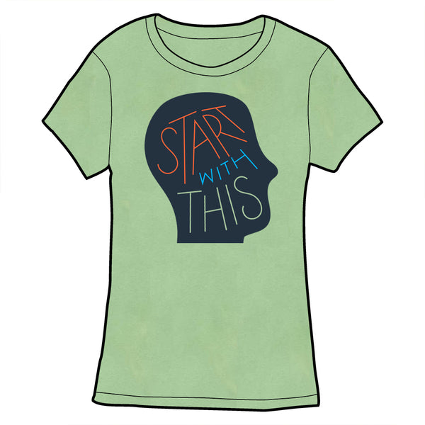 Start With This Logo Tee - Green