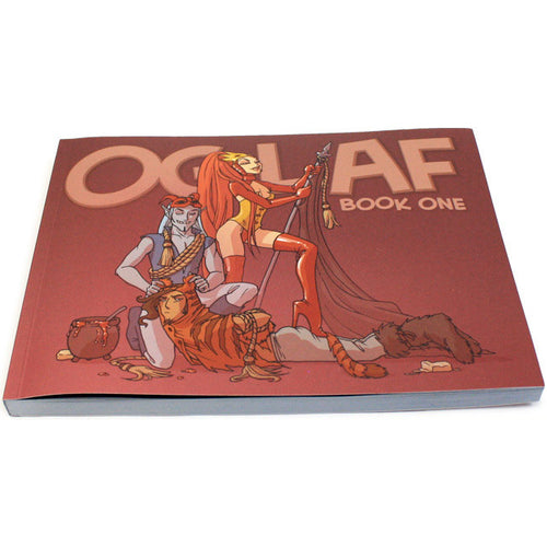 Oglaf Book One (Adults Only!) (Bookplates Available!)