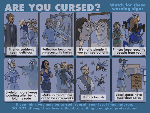 Are You Cursed? Print