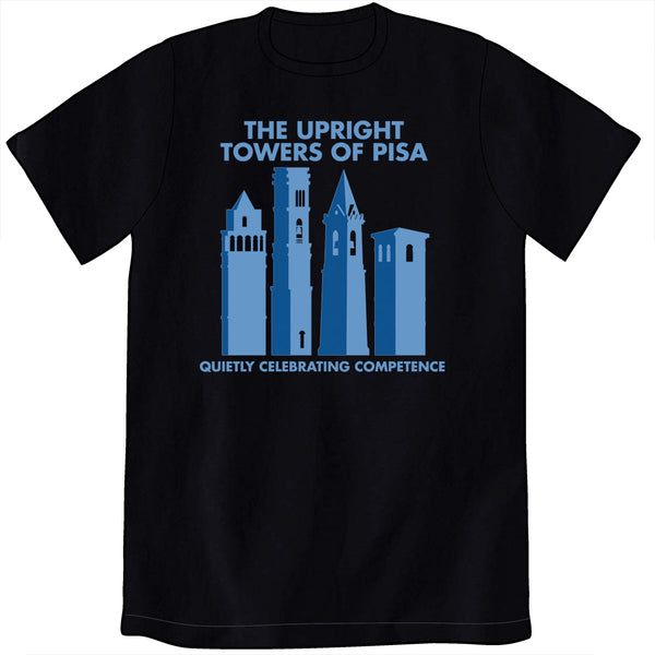 The Upright Towers of Pisa Shirt