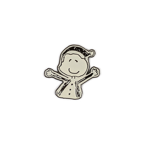 Orbiting Human Circus Cloud Person Pin