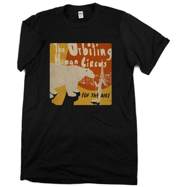 The Orbiting Human Circus (Of the Air) Shirt - Black