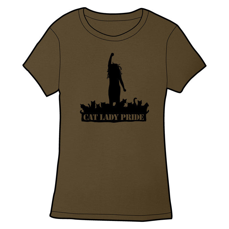 8d4cb0555c Cat Lady Pride T-Shirt