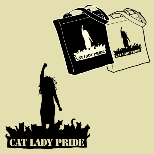 Cat Lady Pride Tote