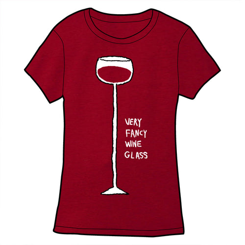 Very Fancy Wine Glass Shirt