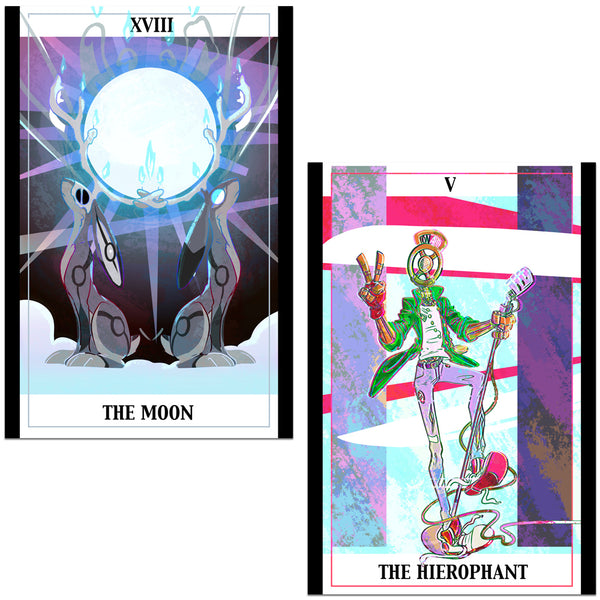 The Property of Hate Tarot Postcards