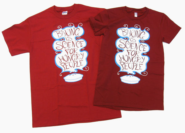 Baking is Science for Hungry People Shirt (Red)