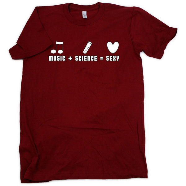 Music + Science = Sexy Shirt