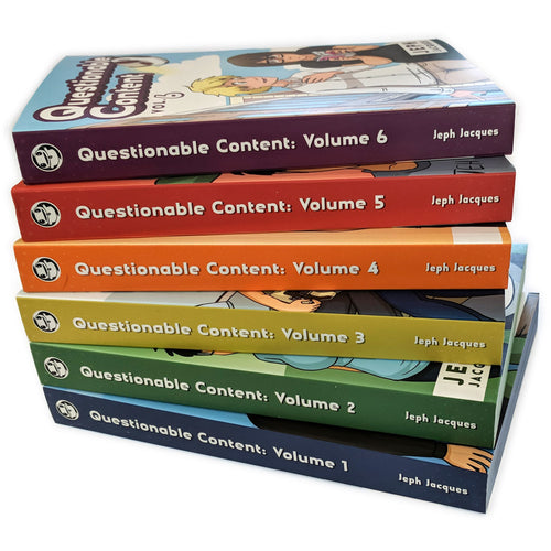 Questionable Content Book Combos!