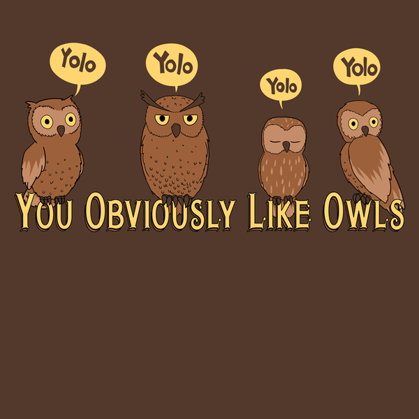You Obviously Like Owls Shirt