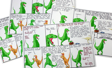 Dinosaur Comics Stickers!