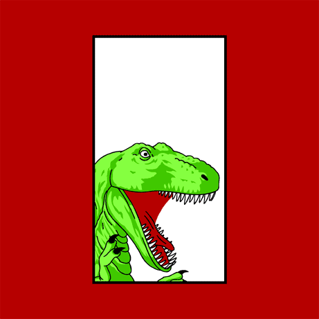 Panel Two T-Rex Shirt