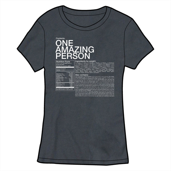 One Amazing Person Shirt