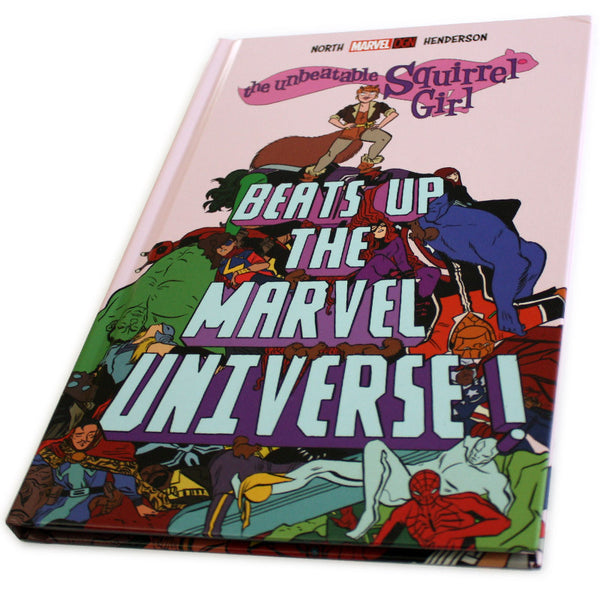 Unbeatable Squirrel Girl Beats Up the Marvel Universe Hardcover