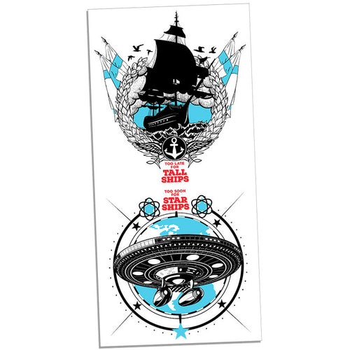 Too Soon For Tall Ships Print