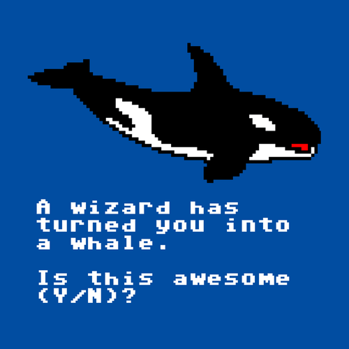 A Wizard Has Turned You Into a Whale Shirt