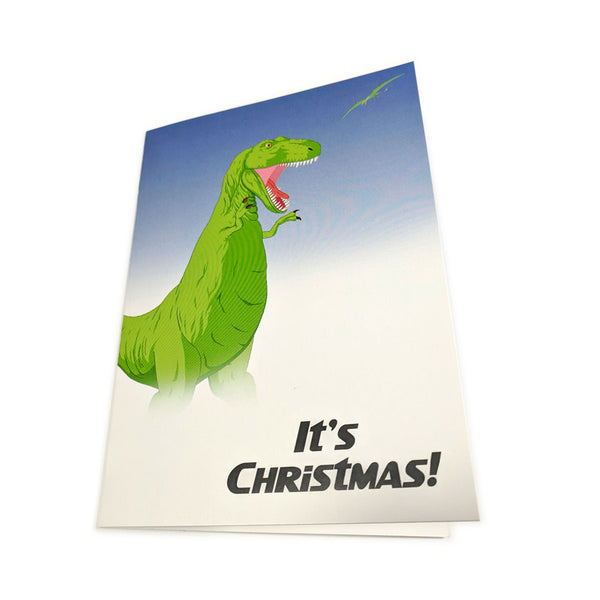 Trex Christmas Card Pack