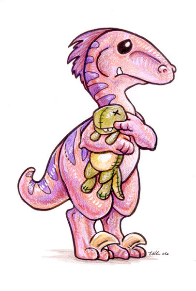 Saurian Sweethearts Prints