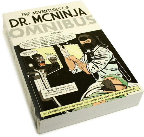 Dr. McNinja Omnibus  + Free Signed Bookplate!