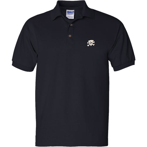 Pizza Crossbones Polo Shirt