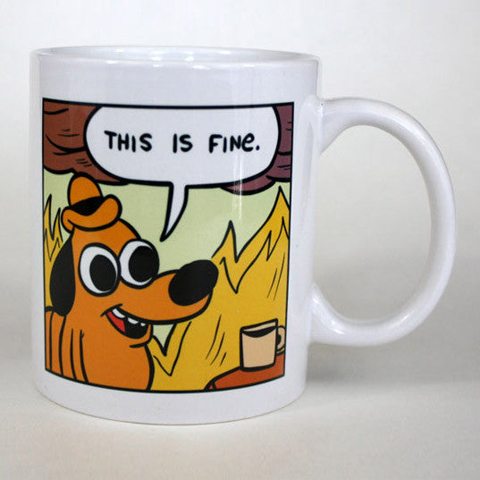 This is Fine Mug (Comic Version)