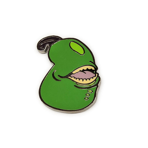 Biting Pear Pin